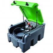 Bazin mobil Diesel 200 L + pompa 12V + pistol manual, 35L/min
