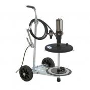 Kit pneumatic de gresat mobil 50:1 pentru galeata de  18-25 kg
