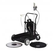 Kit pneumatic de gresat 50:1 mobi pentru butoi de 180/220 kg.