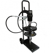 Kit pneumatic de gresat P60:1 mobil pentru butoi de -18/ 30 kg.