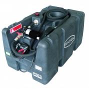 Bazin mobil Diesel 200 L + pompa 12V + pistol automat, 60L/ min