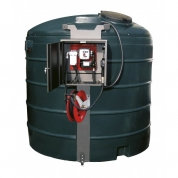 Rezervor de stocare carburant de 5000 L cu futrun de 8 m