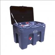 Bazin mobil Diesel 450L + pompa 12V + pistol automat, 60L/ min