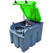Bazin mobil Diesel 400L + pompa 12V + pistol automat, 35L / min